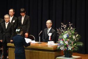 新入生代表の宣誓(大学)