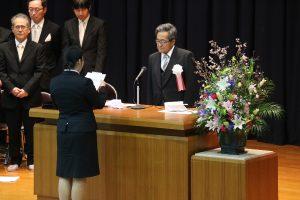 新入生代表の宣誓(短大)