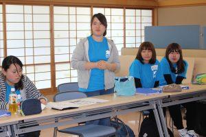 豊田市社会福祉協議会旭支所 自己紹介の様子