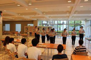 台湾留学生より 手話の発表