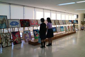 美術部の展示