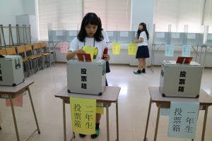 模擬国民投票も行いました